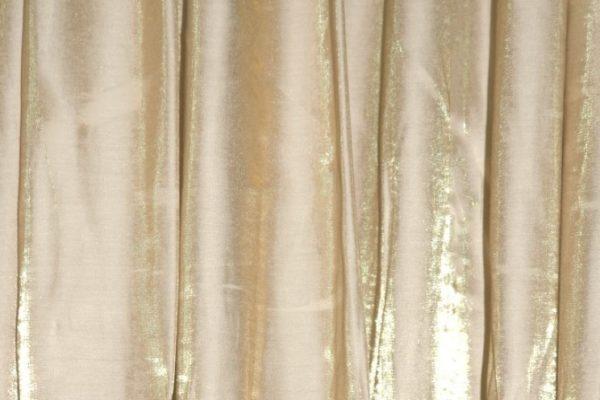 Champagne/Gold Shimmer Satin