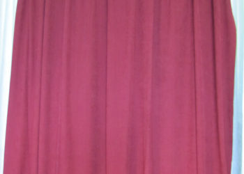 Burgundy Encore Velour Drape