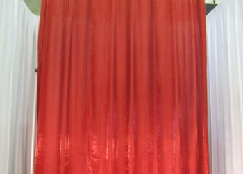Fire Cracker Crystalene Drape