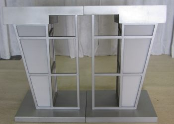 Modern Structural Double Podiums
