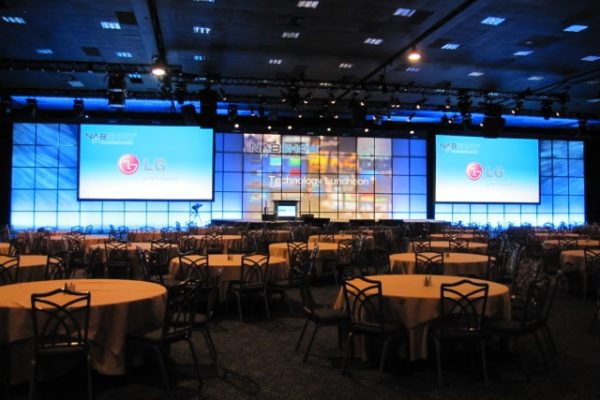 NAB 2012 Rear Projection Set