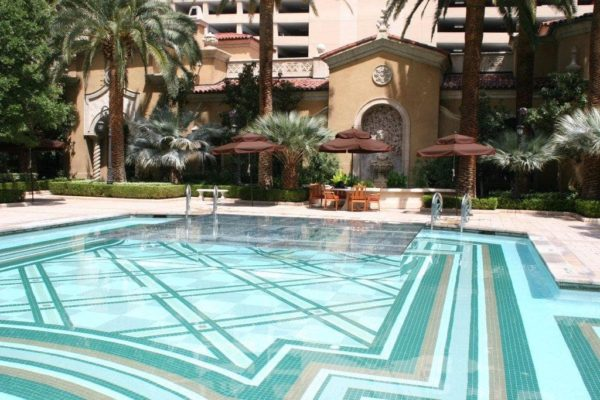 Pool stage: Rental for Special Events