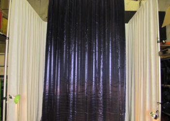Purple Amethyst Crystalene Drape