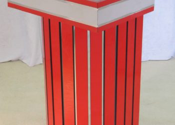 Red Laminate Podium