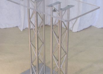 Twin Square Truss Podium