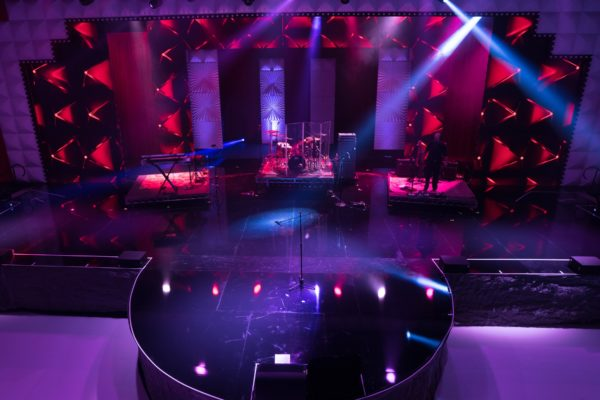 Quest Events Stage Backdrop rental