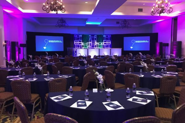 Quest-Events-Corporate-Event-IBM-Full-Set-Drape-Rental