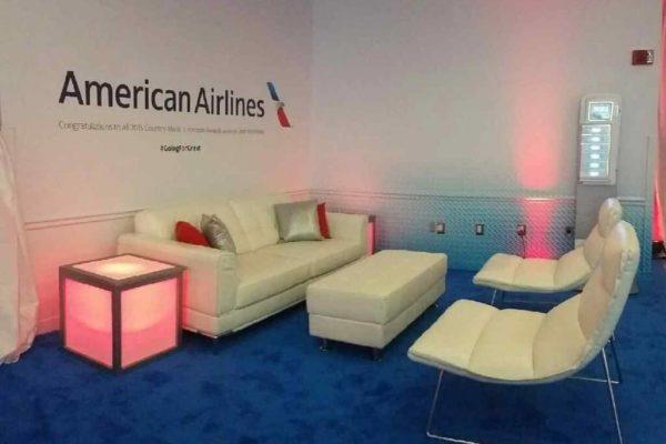 Quest-Events-Corporate-Special-Event-American-Airlines-Decor-Blush-Furniture-Portland-Oregon