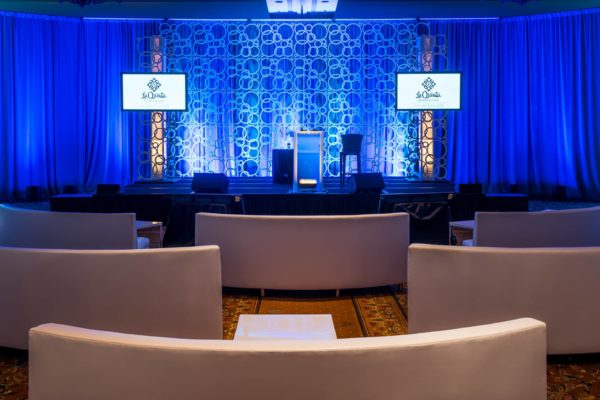 Quest-Events-Corporate-Special-Event-Podium-Scenic-Staging-Uplight-FormSet-GeoPanels-Drape-La-Quinta