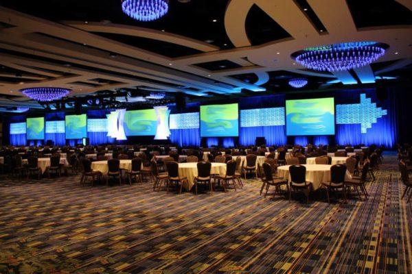 Quest-Events-Corporate-Special-Event-Stage-Scenic-Design-Hotel-Convention-Conference-Center-Moddim-Drape-Uplight