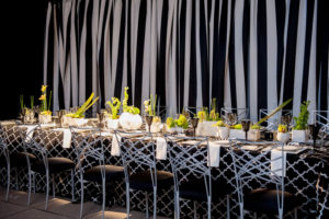 Quest-Events-Event-Drapery-Atlanta-Wedding-Black-White-Stripe-Drape-Rental-Perimeter-Head-Table