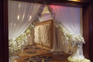 Quest-Events-Event-Drapery-Atlanta-Wedding-Drape-Rental-White-Ivory-Sheer-Swag-Entrance-Parted-Ritz-Carlton
