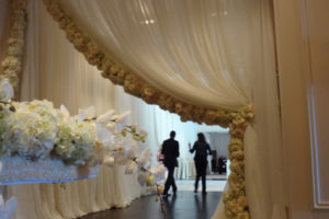 Quest-Events-Event-Drapery-Atlanta-Wedding-Sheer-Drape-Entrance-Floral-Runner-accent-St-Regis