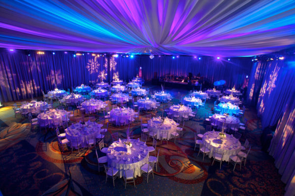 Quest-Events-Event-Drapery-Corporate-Special-Event-Holiday-Party-Scenic-Design-Decor-Specialty-Drape-Ceiling-Treatment-Perimeter-Winter-Wonderland-Theme