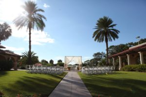 Quest-Events-Scenic-Design-Decor-Special-Event-Wedding-Reception-Cocktail-Hour-Outdoor-Cafe-Lights-Drape-Canopy-Cabana-Mission-Inn-Outdoor-Wedding-Ceremony-Orlando-Florida