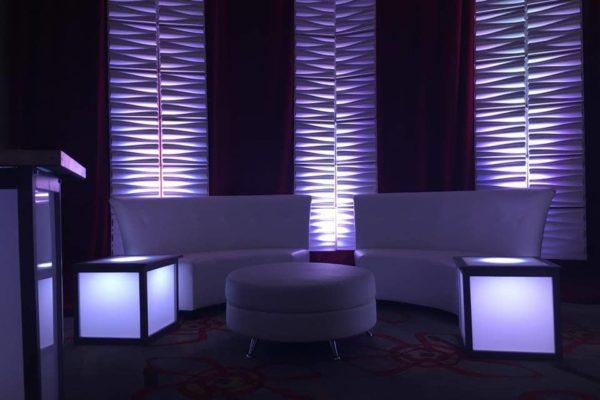 Quest-Events-Special-Event-Stage-Scenic-Design-Lounge-Moddim-Furniture-Drape-Uplight