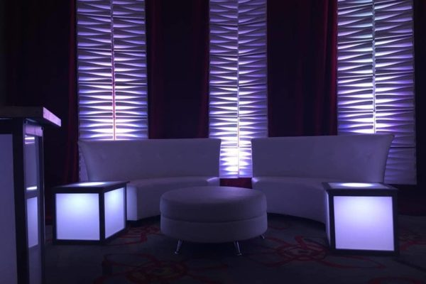 VIP Lounge Furniture Rental