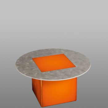 Illum End Table w/ Lighting