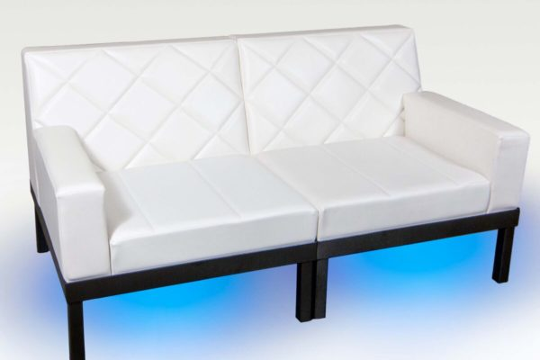 Straight Arm Loveseat