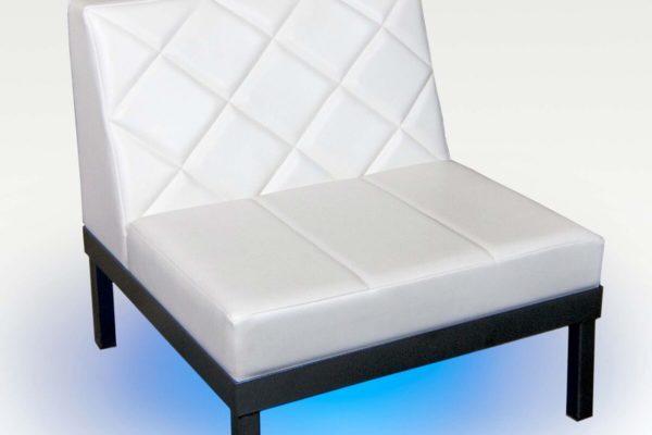Straight Armless Chair