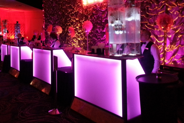 Bar Rental and Reception Areas