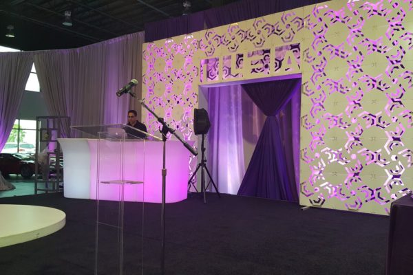 Scenic Backdrop Rentals For Convention and Conferences