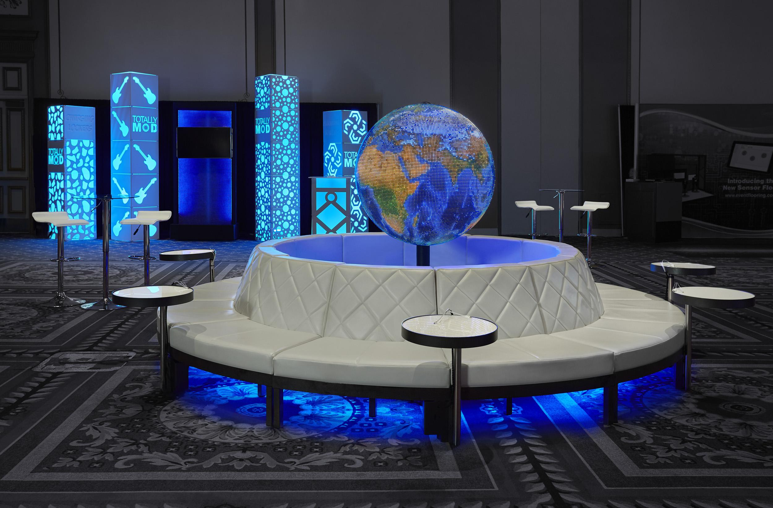 Quest-Events-Totally-Mod-Corporate-Special-Events-Scenic-Design-Lounge-Hotel-Convention-Conference-Furnishings-Leather-Soft-Seating-Tables-Style-Tyles