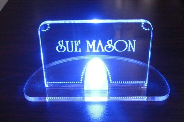 Custom Acrylic Nameplate