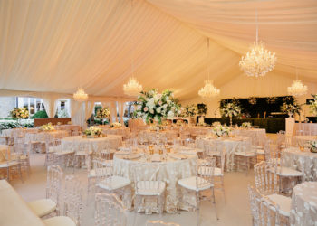 Quest-Events-Visual-Elements-Nashville-Tennessee-Special-Events-Outdoor-Tent-Wedding-Reception-Boxwood-Chandeliers-Specialty-Drape-Scenic-Stage-Decor-min copy
