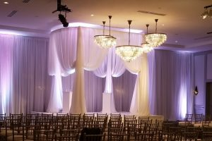 Quest-Events-Event-Drapery-Special-Event-Rentals-Wedding-Ceremony-White-Sheer-Specialty-Drape-Entrance-Oval-Ceremony-Cabana