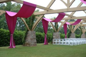 Quest-Events-Event-Drapery-Specialty-Drape-Ceiling-Treatment-Outdoor-Wedding-Ceremony-Flat-Creek-Aarbor