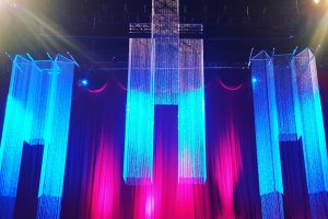 Quest-Events-Event-Drapery-Specialty-Drape-Social-Gatherings-Beaded-Drapery-Beaded-Chandeliers-World-Changers-Church-International-Conference-Stage-Decor-Scenic