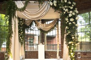 Quest-Events-Event-Drapery-Wedding-Ceremony-Cabana-Chapagne-Satin-Speciality-Drape-Puritan-Mill-Atlanta-Georgia