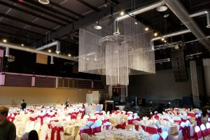 Quest-Events-Event-Drapery-Wedding-Reception-Beaded-Drapery-Square-Chandelier