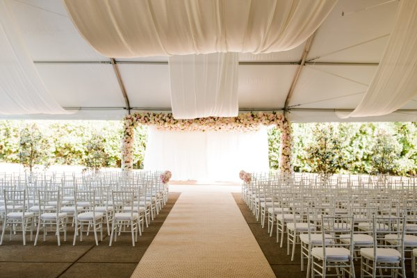 Quest-Events-Nashville-Tennessee-Visual-Elements-Special-Event-Rentals-Outdoor-Tent-Wedding-Ceremony-Drape-Ceiling-Treatment-Thos-+-Maisie