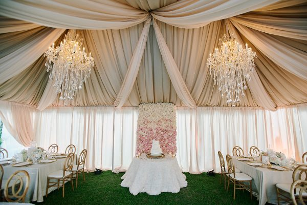 Quest-Events-Nashville-Tennessee-Visual-Elements-Special-Event-Rentals-Outdoor-Tent-Wedding-Reception-Drape-Ceiling-Treatment-Decor-Chandeliers