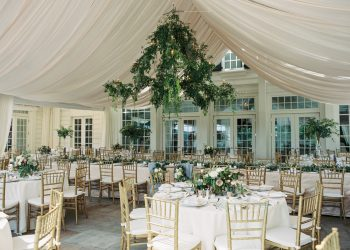 Wedding Drapes Belle Meade Country Club Nashville