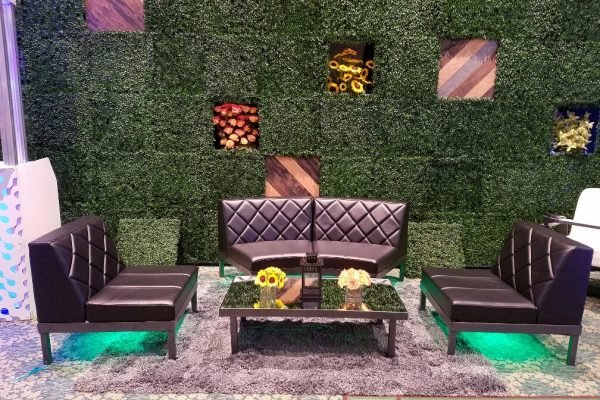 Conversation-Coffee-Table-Mirror-Top-Diamond-Back-Black-Soft-Seating-Grouping-Underlighting-Hedge-Style-Tyles-Wall-Quest-Event-Rental-Totally-Mod