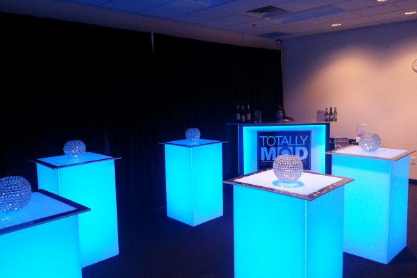 Illum-Highboy-Stainless-Steel-Trim-Top-Uplighting-Branded-Convert-A-Bar-Quest-Event-Rental-Totally-Mod