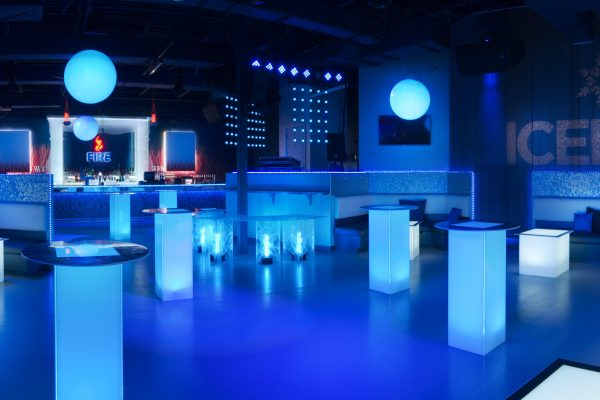 Illum-Shorty-Bistro-Tables-Uplighting-Stainless-Steel-Trim-Top-Lighted-Spheres-Quest-Event-Rental-Totally-Mod