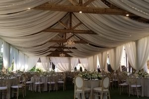 Event-drapery-atlanta-wedding-sheer-drape-pavillion-Barnsley-Gardens-ceiling