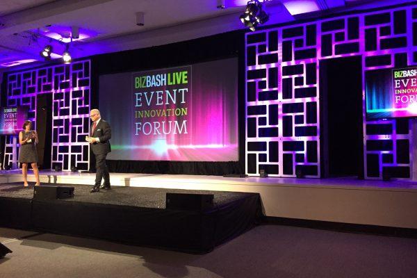 Biz-Bash-Innovation-Forum-Stage-Backdrop-Quest-Event-Rental-Geo-Panel-Rolling-Blocks