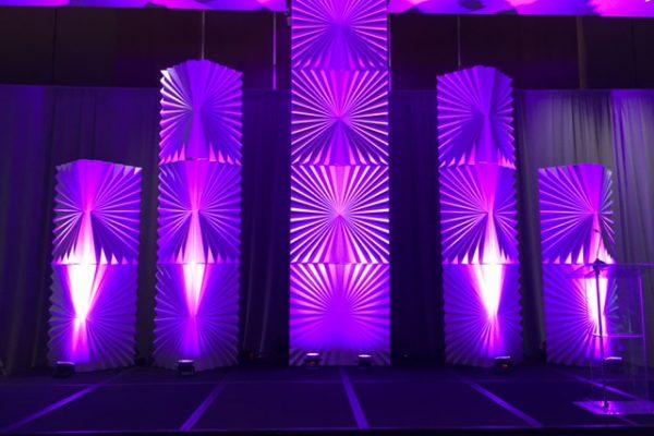 Fans-Conrad-Hotel-Fan-Formset-columns-stage-rental