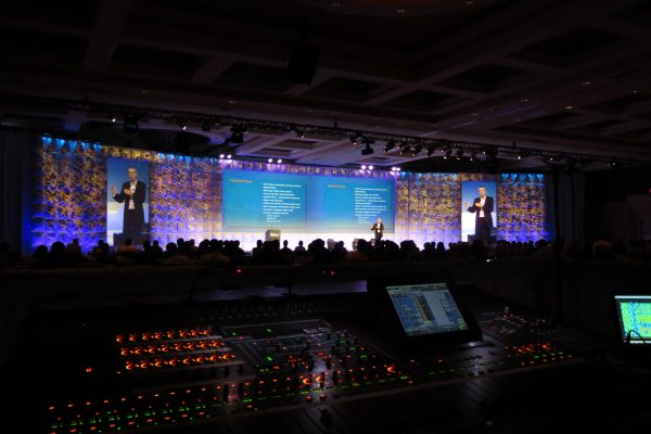 Quest-Events-Audio-Visual-Stage-Backdrop-Screen-Surround-FormSet-Rental-Conference