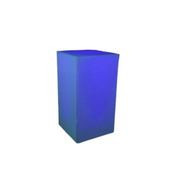 illum-Highboy-Table-Blue-quest-event-rentals-cocktail-table