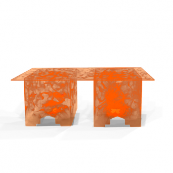 Acrylic-Buffet-Tables-Quest-Events-Furniture-Rental-Totally-Mod-Illuminated-Orange