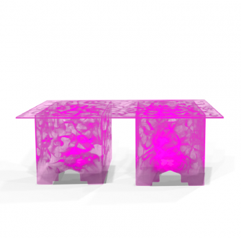 Acrylic-Buffet-Tables-Quest-Events-Furniture-Rental-Totally-Mod-Illuminated-Pink