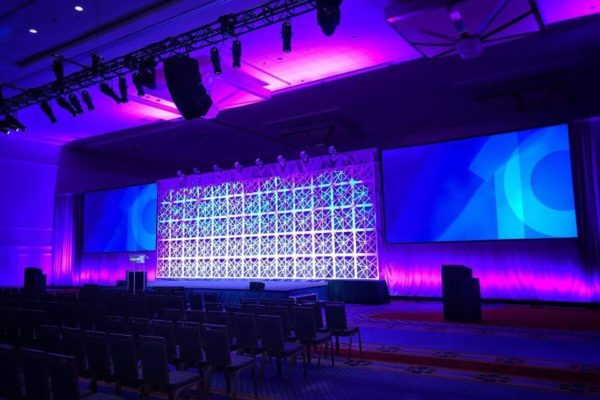 Kaos Geos Full Stage Set 1- quest-event-scenic-rental-geo-series