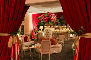 burgundy-velour-door-swags-quest-events-reception-drape