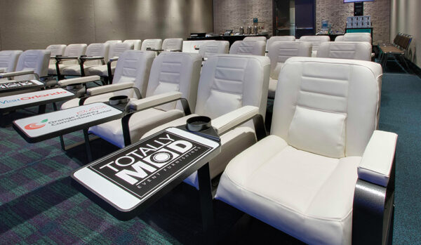 Totally-mod-session-seating-configuration-rental-comfortable-brandable-desk-built-in-quest-events